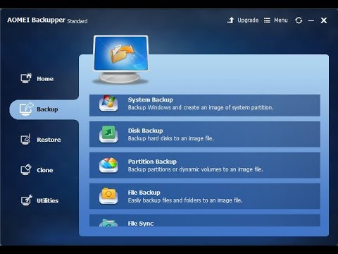 AOMEI Backupper - How to download, install and use for free (backup &  restore system easily) 2017