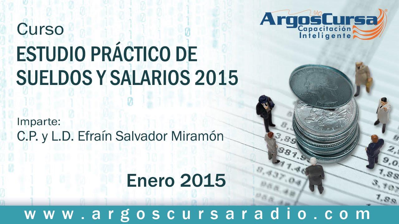Estudio Práctico De Sueldos Y Salarios 2015