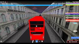 Roblox London & South V4.1 Scania Omnicity (doble piso) Stagecoach London Route 8