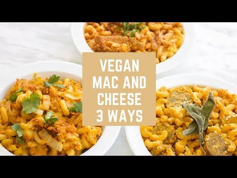 Mac and Cheese 3 Ways! (Vegan)