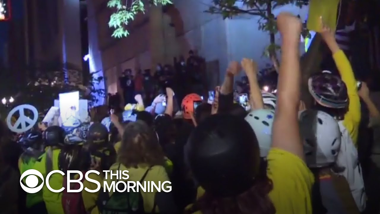 In Portland, Man Is Fatally Shot in Another Night of Unrest