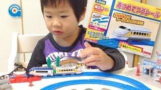 あつめてプラレールを作りました【がっちゃん4歳】東武スペーシア