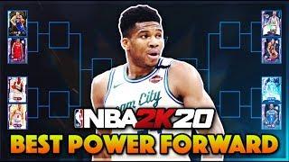 WHO IS THE BEST POWER FORWARD IN NBA 2K20 MyTeam? (Bracket)