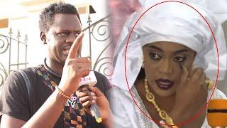 """Grosse colère de Omaro sur une question du journaliste sur Sokhna Aïda Diallo """"Sama yone nekoul ci"""