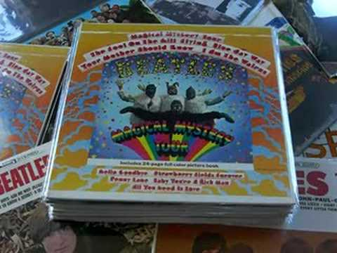 Sealed Beatle Record Collection