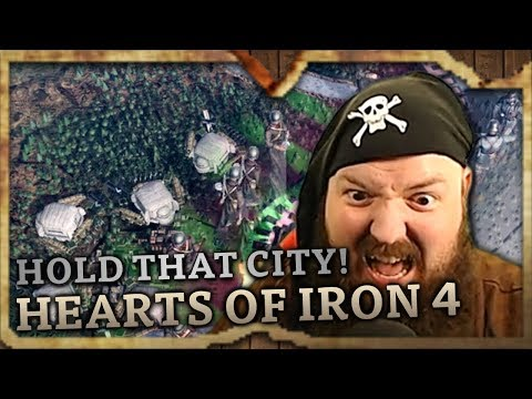 HOLD THAT CITY! (Hearts of Iron 4 Highlights #1)