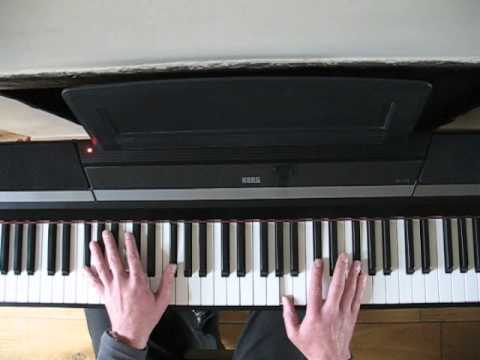 The Beatles - Dont Let Me Down Piano...