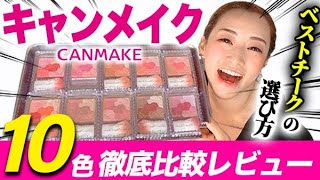 CANMAKE Professionals thoroughly review Glow Fleur Cheeks♡