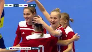 Швеция Россия 0 7 Товарищеский матч Женщины Матч 2