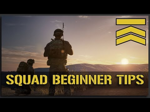 TOP 10 IMPORTANT BEGINNER TIPS for New Squad Players + SQUAD SALE - Multiplayer Squad Gameplay Guide