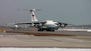 Ил-76 и Сложная орнитологическая обстановка