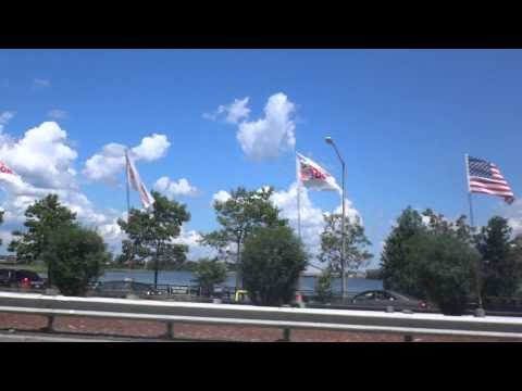 Driving Past: LGA LaGuardia Airport on the Grand Central Parkway