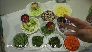 ★★ Indian Vegetable Curry Recipe - Vegan Veggie Masala