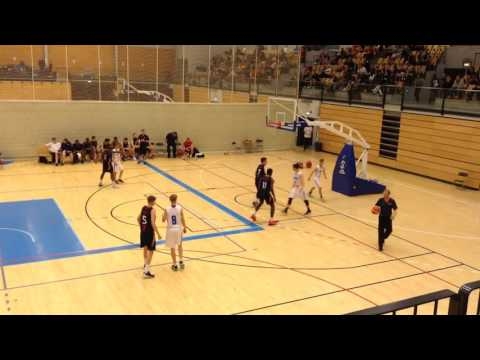 England U15 NDP Boys v Finland Blue U15: Final @Copenhagen Invitational Basketball 2016