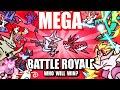 Mega Pokemon Battle Royale (Loud Sound/Flashing Lights Warning) ☄️ Collab With @Lockstin & Gnoggin