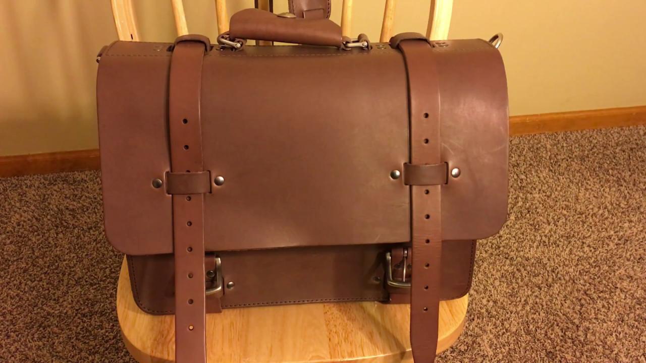 Kendal and Hyde medium classic satchel mocha part 1 3 - YouTube 43f2826a8816b