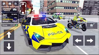 Police Car Driving - Motorbike Riding - Gameplay Android game - police car games