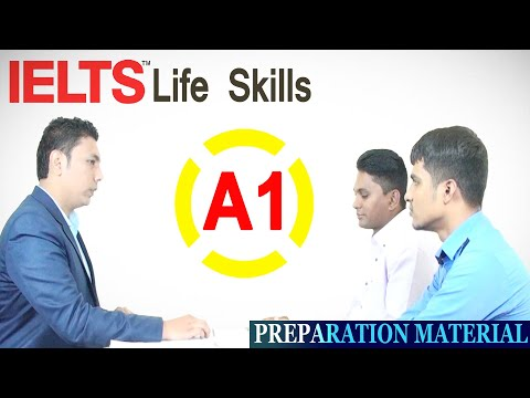 ✔ IELTS Life Skills – A1 Speaking and Listening (Sample Test 2)
