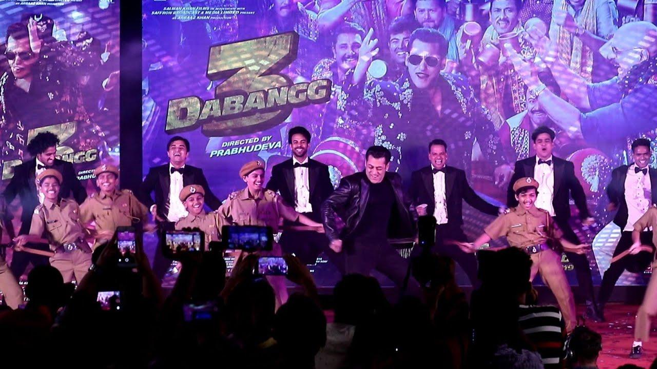 UNCUT - DABANGG-3 New Song Munna Badnaam Hua Launch | Salman Khan, Sai Manjrekar