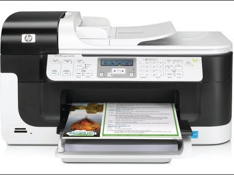 Hp Officejet 6500 - Not Printing - How to clean printhead