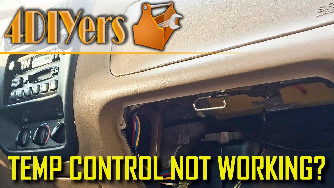 DIY: Ford Ranger Blend Door Actuator Diagnosis and Repair