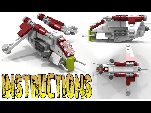 Lego Star Wars Laat Instructions Youtube