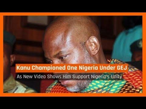 Nigeria News Daily: Nnamdi Kanu Championed One Nigeria Under Goodluck Jonathan (10/09/2017)