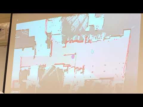 Jim DiNunzio Shows His Progress In Robot SLAM With The Slamtec Robot RSSC April 2019 Meeting