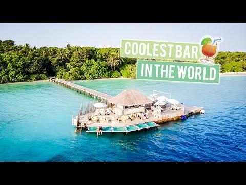 Coolest Bar in the World | Soneva Fushi (Maldives)