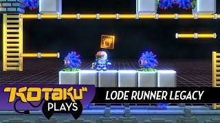 Kotaku Plays Lode Runner Legacy