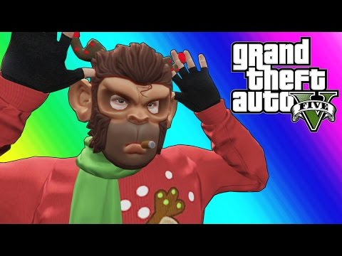 GTA 5 Online Funny Moments - EPIC Snowball...