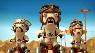 Rabbids Invasion - Biker Rabbids
