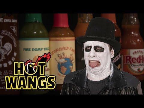 horror-host-gets-shamed-while-eating-spicy-wings-|-hot-ones-(parody)
