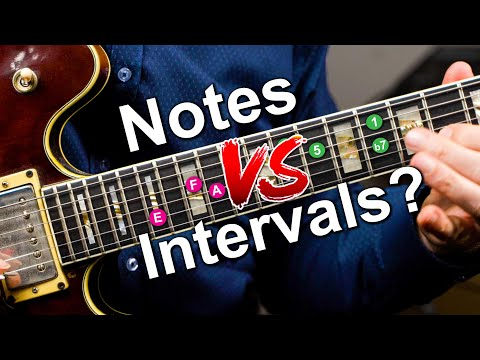 Two Intervals For Every Note - Why You Need To Know This