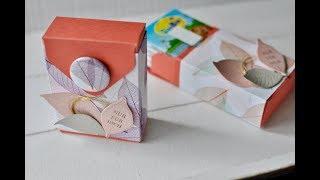 Box mit dem Envelope Punch Board | Kraft der Natur | Stampin