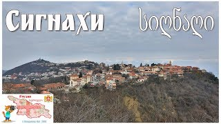 Грузия, Кахетия, Сигнахи  |  კახეთი, სიღნაღი Video