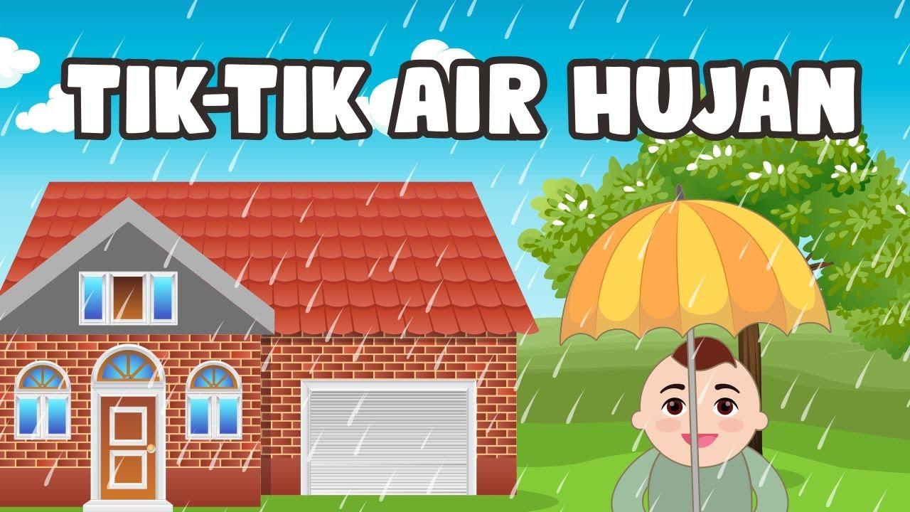 Tik Tik Tik Bunyi Hujan | Lagu Anak | Nino Kids