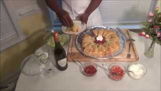 Taco Ring A Great Party Platter Recipe