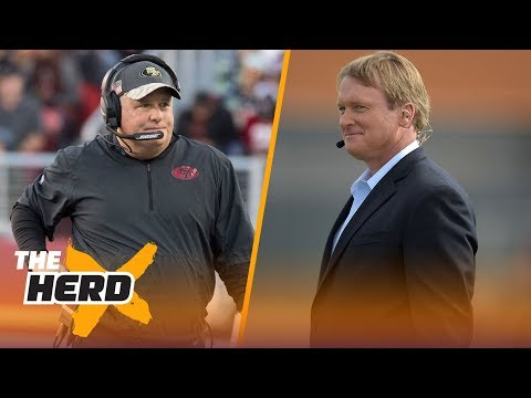 Colin Cowherd reacts to CFB coaching rumors: Chip Kelly to Gators, Jon Gruden to Vols?   THE HERD