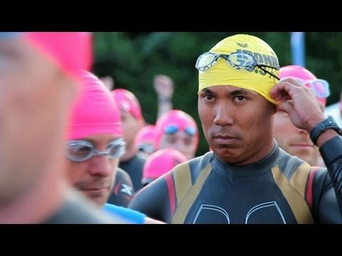 Hines Ward is an Ironman
