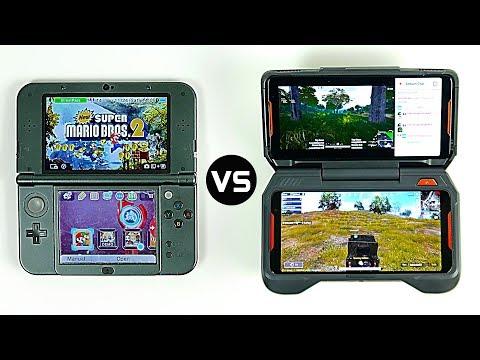 Nintendo 3DS XL vs Ultimate Gaming Smartphone