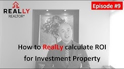 How to calculate ROI for Investment Property