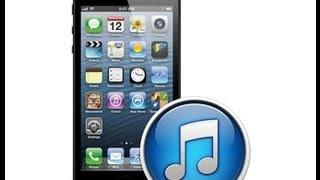 Установка прошивки на IPhone через ITunes(, 2013-06-18T16:40:32.000Z)