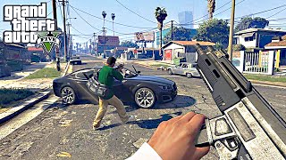 GTA 5 - 60 FPS First Person Mode Gameplay Trailer - Grand Theft Auto V PS4/Xbox One/P