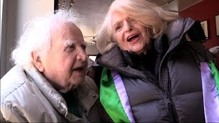 RIP Edie Windsor w/Malachy McCourt  'Wild Mountain Thyme' @ St Pat's For All 3/5/17