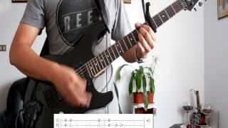 Avenida Alcorta Cover Guitarra (con tablatura).