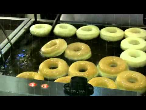 making donuts in donut shop youtube