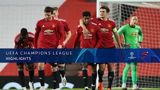 UEFA Champions League | Manchester United v Red Bull Leipzig | Highlights