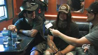 Backstage with... Hellyeah