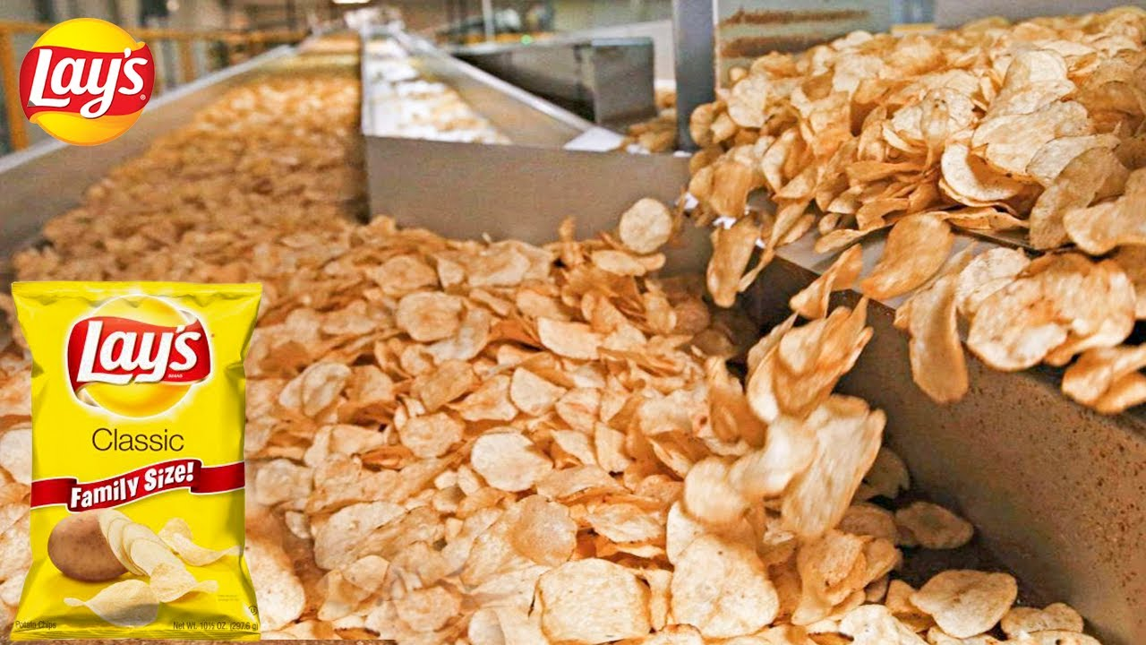 Download Lays Chips Factory   How Fresh Potato Chips Are Made